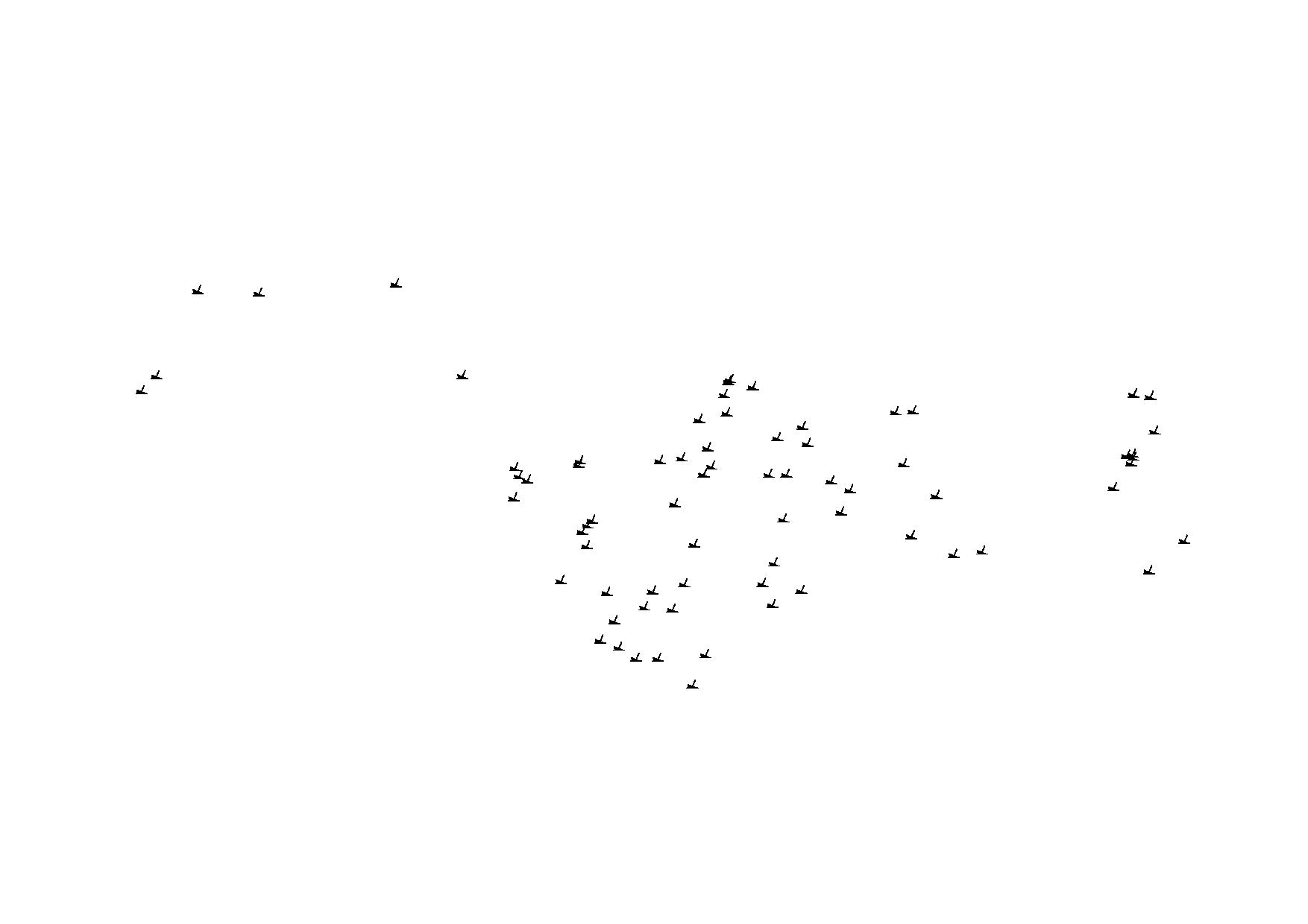 dredged area